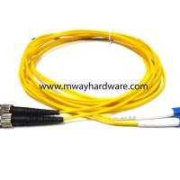 Kabel Fiber Optic ST to LC Single Mode/Cable Fiber Optic 3 Meter