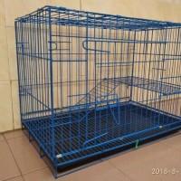 kandang kucing tingkat murah ukuran p75xL48xT55