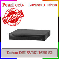 DVR CCTV DAHUA XVR 16 CHANNEL SERI DHI-XVR5116HS-S2 GARANSI 3 TAHUN