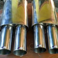 Knalpot BMW M3/Mtech Full Stainless Steel Untuk BMW All Series