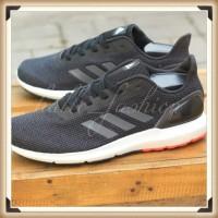 Sepatu Running Adidas Cloudfoam Cosmic II Black Grey Sneakers Original