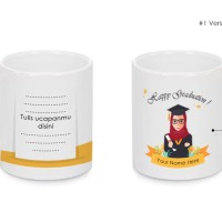 Mug Custom Hadiah wisuda / happy graduation / Graduated