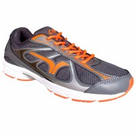 Calci Running Shoes - Sepatu Lari New York M - Grey Orange