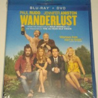 Wanderlust blu-ray + dvd new sealed