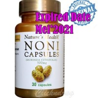 Natures Health NONI Capsules Morinda Citrifolia 500mg isi 30 Capsules