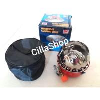Kompor Gas Portable Mini Bulat