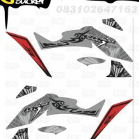 N20 Decal Sticker XABRE Striping Techno Tribal decal motor stiker
