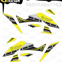 N25 Decal Sticker XABRE Striping VR46 Project decal motor stiker