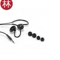 New model Vivan Q5 Wired Ear Hanging Sports Headset - Black