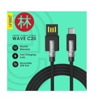 New model UNEED UCB20C Data Cable Type-C USB Fast Charging 2.4A 1M -