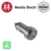 New model Vivan CT01 Type-C Car Charger 2.4A - Grey