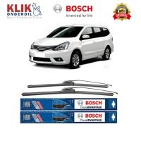 Bosch Sepasang Wiper Nissan Grand Livina Frameless New Clear 24 & 14