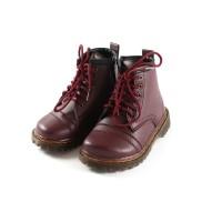 Sepatu Boots Anak Tamagoo-Jack Maroon Shoes Sneakers Murah Branded