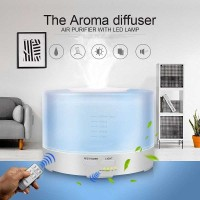 Aroma Therapy Air Humidifier 7 Color 500ml with Remote Bergaransi