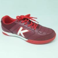 Sepatu futsal kelme original Land Precision Merah Maroon