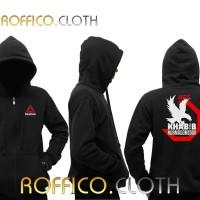 Jaket Hoodie Zipper Logo UFC Khabib Nurmagomedov The Eagle 02 Roffico