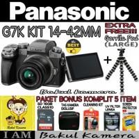 PANASONIC LUMIX G7K Kit 14-42mm PAKET SUPER / PANASONIC LUMIX G7