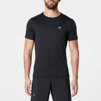 Baju Olahraga Running Pria Cepat Kering, DECATHLON RUNNING T-SHIRT