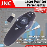 BEST Laser Pointer Wireless USB Mouse Presentasi Proyektor Projector
