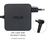 ORI Adapter Charger LAPTOP ASUS 19V - 3.42A SQUARE SHAPE ORIGINAL 4MM