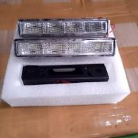 Lampu Led DRL Model Yaris 4 Titik Universal