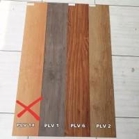 Lantai Vinyl Plank LGV Tebal 2 mm Rp. 14.000/pcs