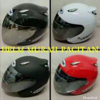 Helm ink centro kw replika kaca hitam silver pelangi murah promo