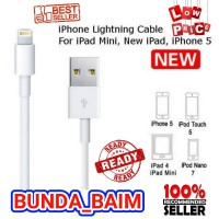 KABEL DATA IPHONE OC567 LIGHTNING / CABLE CHARGER APPLE IPAD IPOD