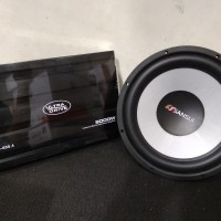 Power ULTRA DRIVE UD-600.4 and Subwoofer SANSUI SA-W12DD Audio Mobil