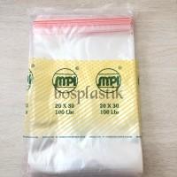 Plastik Klip uk 20x30 merk SMPI (Isi 100 pcs)