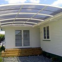 kanopi rumah model oval atap solartaf