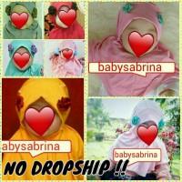 Jilbab anak bayi mariam