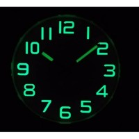 Bestt Seller Yth23Y Jam Dinding Meridient Glow In The Dark Sweep