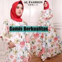 Baju Gamis Wanita Muslim Isnaya maxi CC Murah