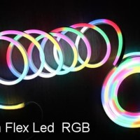 Lampu Neon Flex LED Selang Flexible Sign Strip Fleksibel RGB / 6 Warna