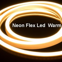Lampu Neon Flex LED Selang Flexible Sign Strip Fleksibel WARM