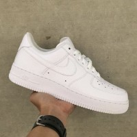 100% Original Nike Air Force 1 07 Low All White