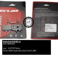 Brake Pad GUB BP-11