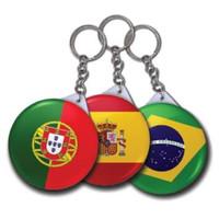 pin souvenir gantungan kunci 58mm