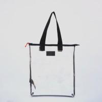 Tas Selempang Belanja Tote Wanita Transparan - TFG Tote Bag 205 Glassy