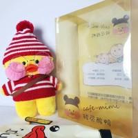 boneka mimi duck lucu kado natal spesial unik boneka bebek duck impor