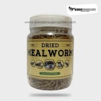 Dried Mealworm - Ulat Hongkong Kering - Pakan Hewan - Snack Hewan