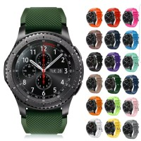 samsung gear s3 S4 46 mm frontier classic silicone strap tali jam