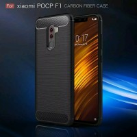 Case Ipaky Carbon Fiber XIAOMI POCOPHONE F1 2018 Softcase Shockproof