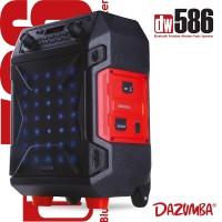 Speaker Karaoke Bluetooth Super Duper Bass Outdoor Dazumba DW586