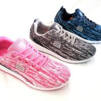 sepatu sneakers olahraga running wanita ando joy