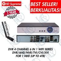DVR 4CH RECORDER CCTV WIFI SERIES 1080p FULL PLAYBACK 4 CHANNEL XMEYE
