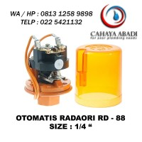 GROSIR - OTOMATIS POMPA AIR -1/4 INC - RADARORI - RD-88