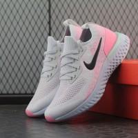 sepatu Nike Epic React white pink BNIB women