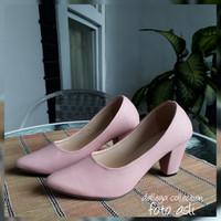 BIGHEEL BONAY SILKY - sepatu high heels pantopel kerja simple
